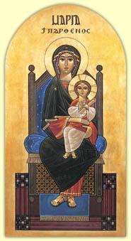 En poésie de L'Église Orthodoxe Copte en France dans poesie Viergeenfant