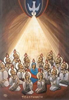 Sainte fête de PENTECÔTE à tous! Pentecote1p